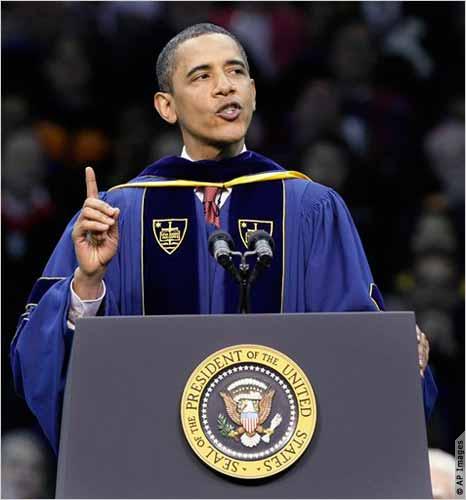 "Obama ""Thinking of Coterming"""