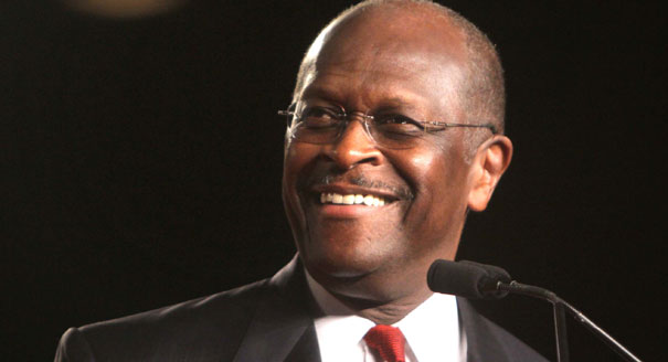 "Woman Accuses Cain of ""Professional Relationship"" as Campaign Comes to Close"