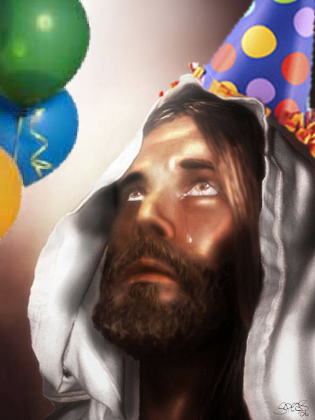 God Awkwardly Forgets Son's Birthday Again
