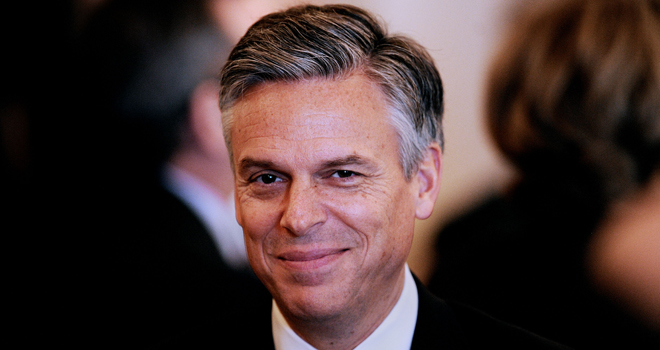 Huntsman Drops Out of GOP Race in Hopes of Having an Affair