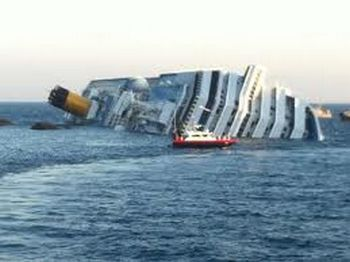Cruise Ship Goes Down in Protest of SOPA