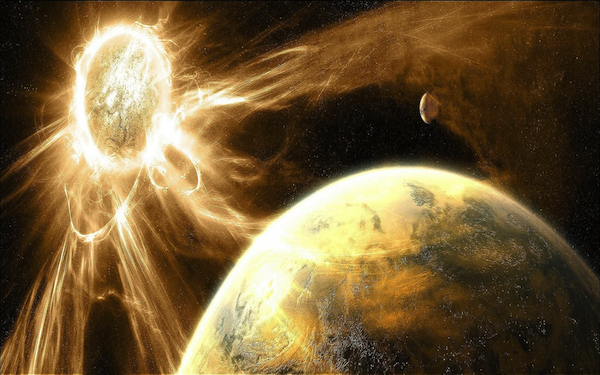 Earth Continues to Perilously Circle Blazing Star