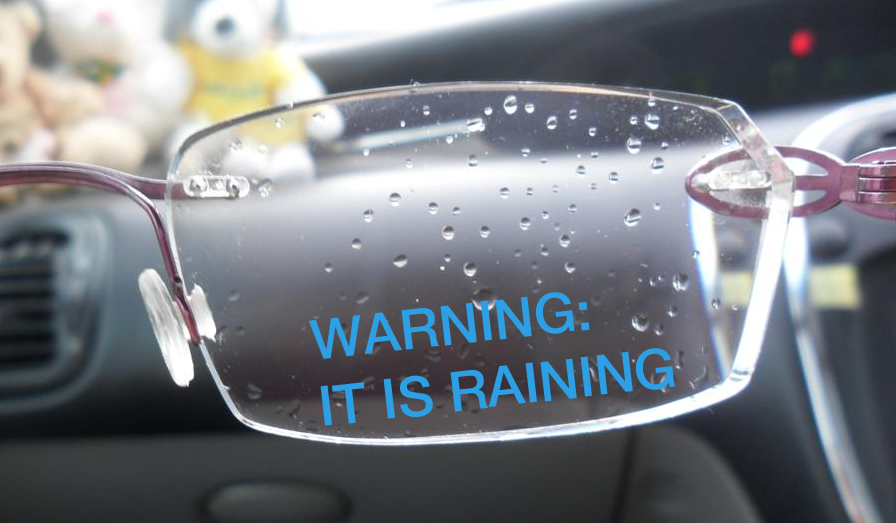 Google Glasses to Tell People the Weather