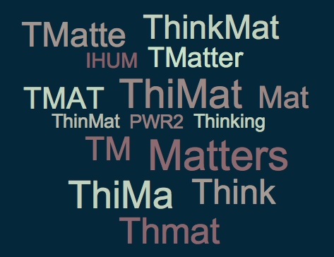 "IHUM Replacement ""Thinking Matters"" In Search of Catchy Abbreviation"