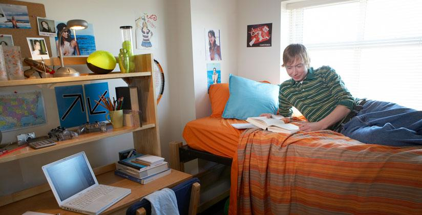 "Freshman Confident His Room Will Be ""The Party Room"""