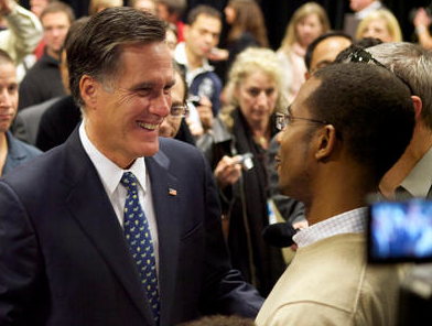 Romney courts minority vote by showing off 'Black Friend'