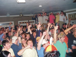 Student Convinced this Frat Party Will be Different from Other Frat Parties