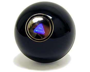 Teenage Girl Loses Faith in Horoscope, Turns to Magic Eight Ball