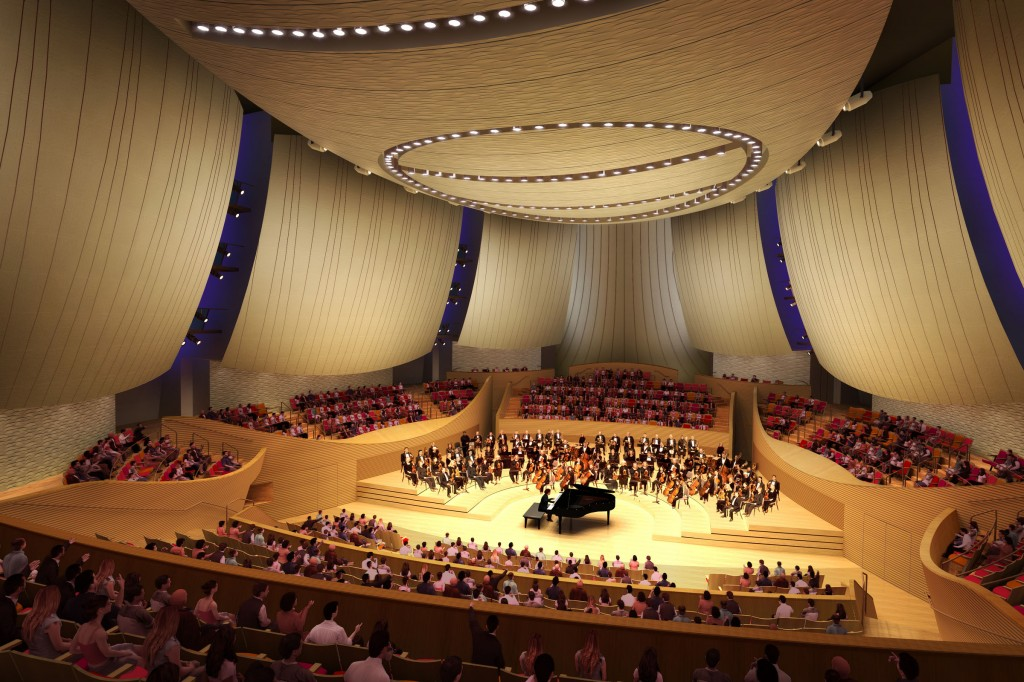 Bing Concert Hall Rebrands as Bling Concert Hall to Attract Youth Audiences