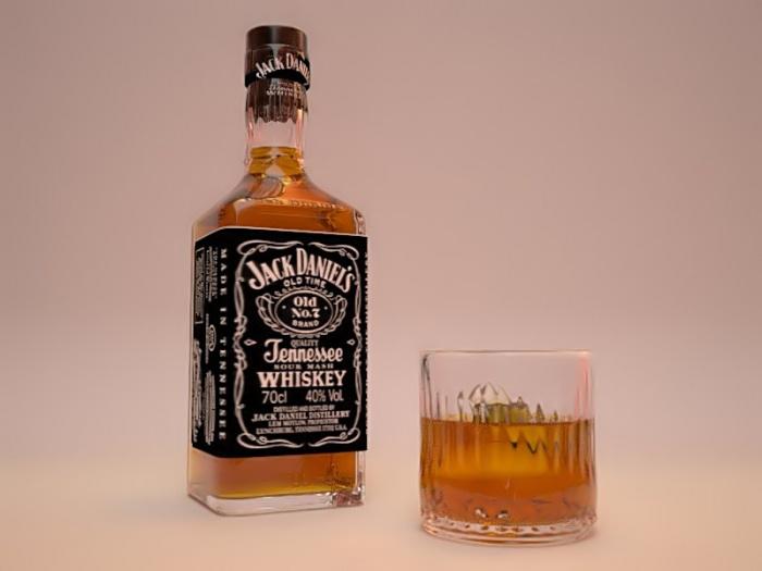 Area Man Declares Bottle of Jack His Best Friend