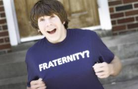 Friend Who Rushed Frat Ironically Now Taking This Whole Pledge Thing Really Seriously