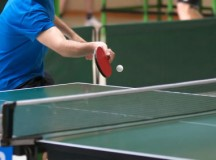 Freshman Discovers Latent Ping Pong Talent; Women Respond Appropriately