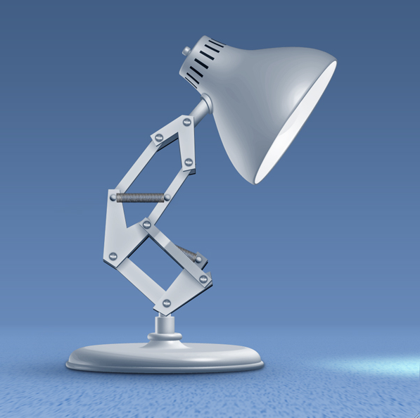 "Bouncing Pixar Lamp ""A Shell of Former Self"""