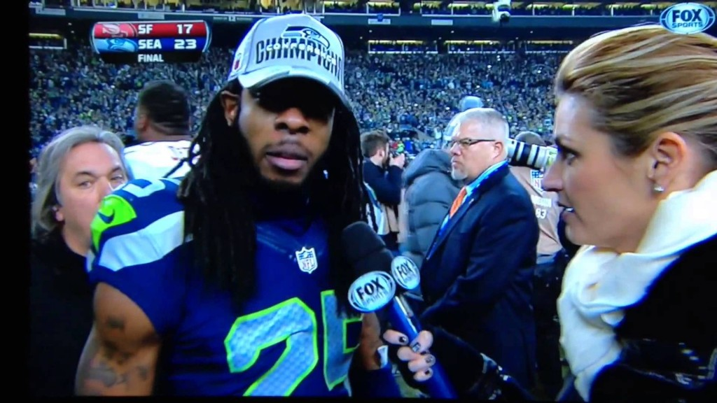 Richard Sherman Showcases Stanford Communications Degree With Sophisticated Postgame Interview