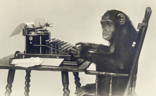 Creative Writing Department to Spend $850 Thousand on 1000 Monkeys with 1000 Typewriters to Recreate Hamlet