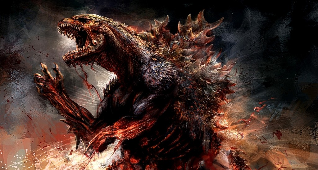 Plot to New Godzilla Film Revealed, Giant Lizard Destroys City