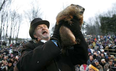 Groundhog Sees His Shadow, Global Warming Formally Disproved