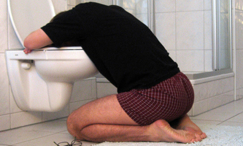 Kid Vomiting in Stall Next To You To Run Fortune 500 Company Someday