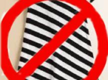 Study Finds Diagonal Stripes Unflattering on Infants