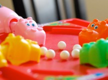 Hungry Hungry Hippo Contemplates Suicide, Dinner