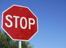 Local Stop Sign Just Sick of Nagging