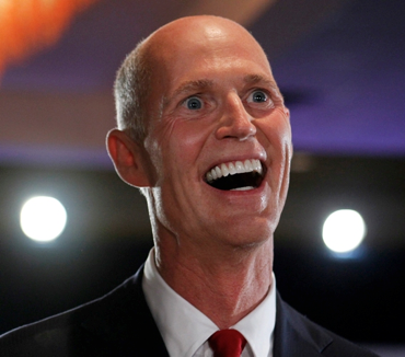 REPORT:  Governor of Florida Rick Scott is Coming for You