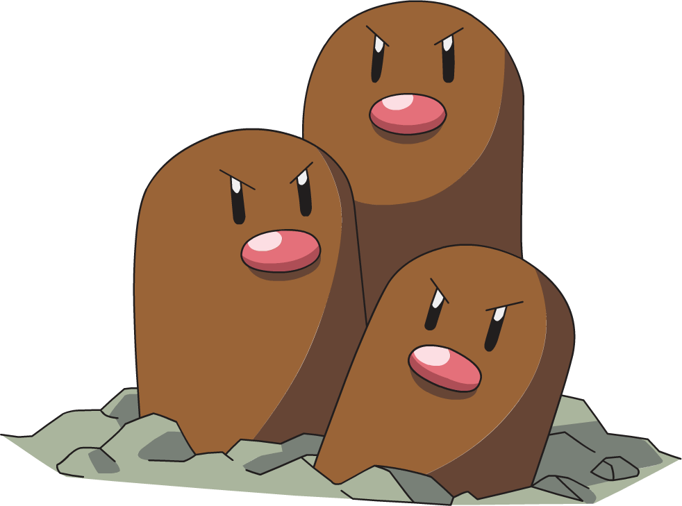 Pokémon Developers Reveal That Dugtrio is Just Three Digletts