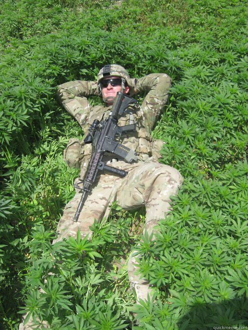 US Government Terminates War On Drugs