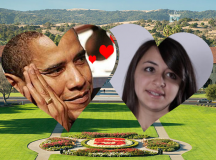 Unlikely Duo Obama and Abigail have Rollicking Valentine's Romance on The Farm