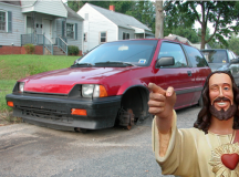 Op-Ed: Jesus Took All My Wheels and Now I Can't Drive