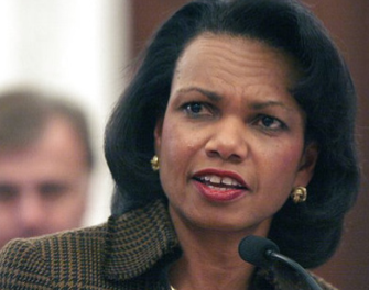 Condoleezza Rice Bullshits Way Through Lecture
