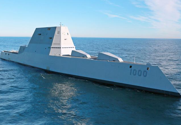 Navy's $4 Billion Destroyer Successfully Destroys $4 Billion