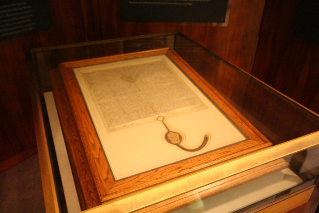 Poor, Dumb Bastard Loses Last Remaining Copy of Magna Carta