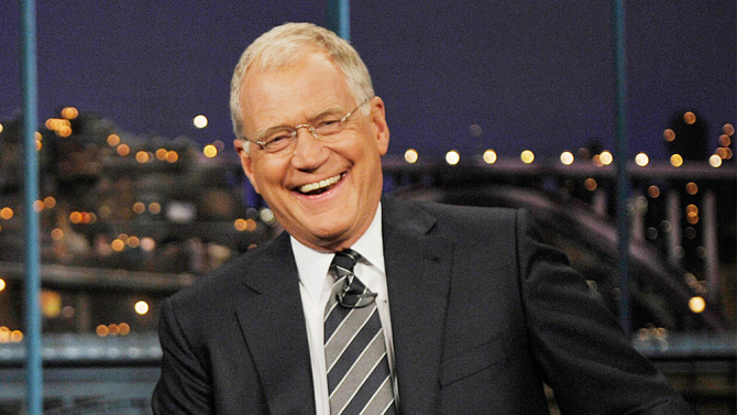 David Letterman Thinks of 33 Years of New Jokes in Car on the Way Home