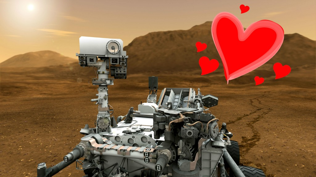 Curiosity Finds Love on Mars