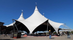 & Homecoming Weekend Coincides With Giant Tent Sale