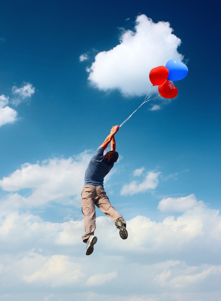 Ask a Child Who Bought Too Many Balloons and Is Now about to Float into Restricted Airspace