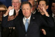 Kasich Cashes in on Second-Place Bet, Promptly Drops Out