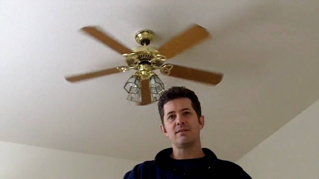 Student Wondering If Ceiling Fan Rotating Fast Enough To Decapitate TA