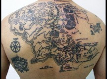 Freshmen Whose Tattoos Line Up To Form Map To Ancient City Of Mlo'torman Just Ok Friends