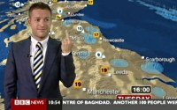 Power-Mad Weatherman Refuses to Hand It Back to Tom at the News Desk