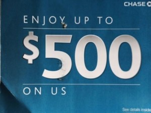 Student Making Millions Off Chase Bank's $500 Flyers