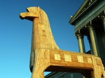 Kappa Alpha Only Mildly Concerned by Admin's Gift of Large Wooden Horse