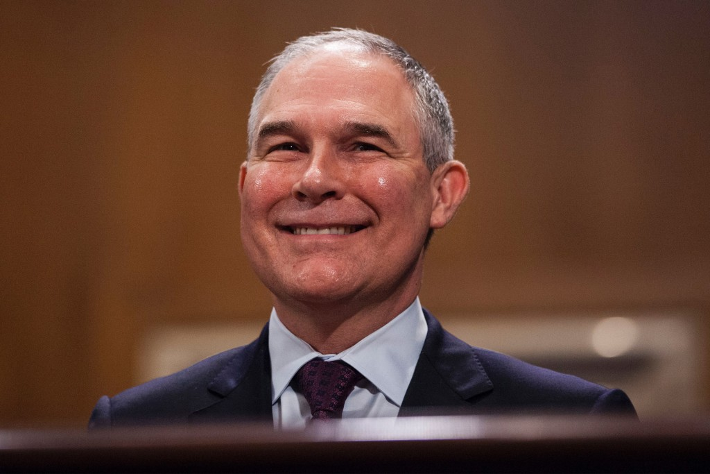 Sustainability Success: EPA Director Scott Pruitt Has Murdered Enough Babies to Make America Carbon Neutral