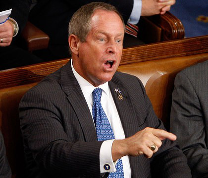 "Joe Wilson Yells Out ""Nice Ass"" To Michelle Obama During Speech"