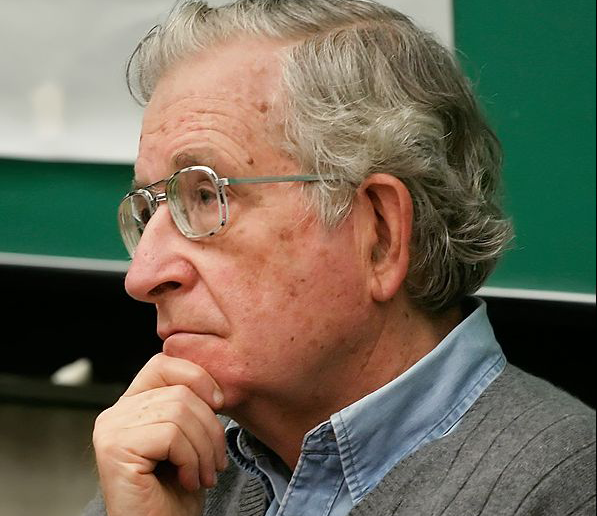 Chomsky Speaks Out About How No One Understands What He's Saying