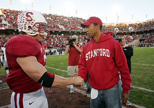 Stanford Drops Tiger Woods