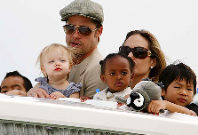 Brangelina to Adopt all Haitian Children