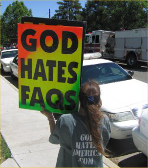 God Hates Faqs Protest Against Computer Illiteracy