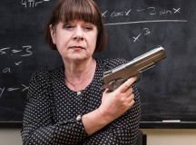 Heartwarming: When her school couldn't afford to buy this teacher a gun, she paid for one out-of-pocket